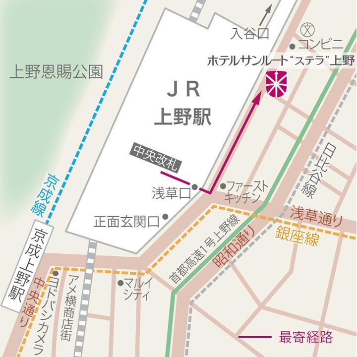 上野駅 京成上野駅